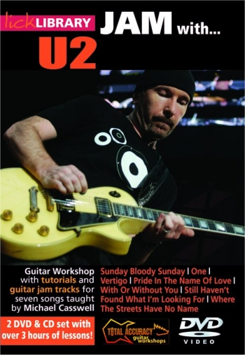 Lick Library: Jam With U2: DVD