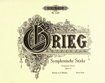Symphonic Pieces Op 14:  Two Pianos (Peters)