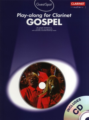 Guest Spot: Gospel: Clarinet: Book & CD