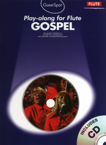 Guest Spot: Gospel: Flute Book & Cd