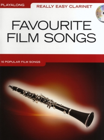 Really Easy Clarinet: Film  Song: Clarinet Playalong: Book & CD