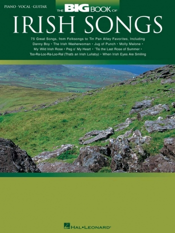The Big Book Of Irish Songs: Piano Vocal And Guitar