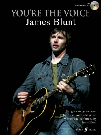 Youre The Voice: James Blunt: Piano Vocal Guitar: Bk&cd