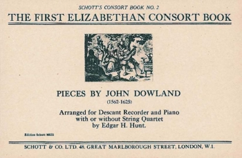 The Jacobean Consort Book: Recorder  And Piano