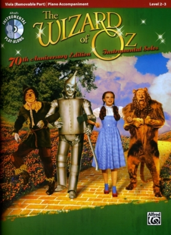 The Wizard Of Oz Instrumental Solos For Viola & Piano Accomp: Bk&CD