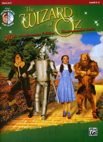 The Wizard Of Oz Instrumental Solos For French Horn: Bk&CD