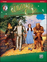 The Wizard Of Oz Instrumental Solos For Trumpet: Bk&CD