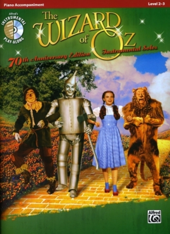 The Wizard Of Oz Instrumental Solos For Piano Accomp: Bk&CD