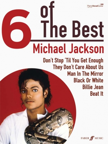 6 Of The Best: Michael Jackson: Piano Vocal Guitar