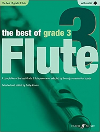 Best Of: Grade 3: Flute: Book And CD (Sally Adams)
