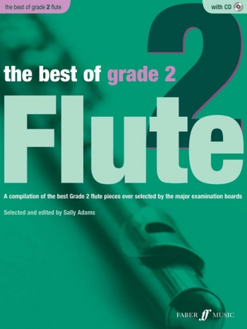 Best Of: Grade 2: Flute: Book And CD (Sally Adams)