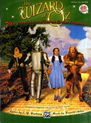 The Wizard Of Oz Instrumental Solos For Guitar: Bk&CD