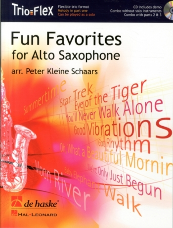 Trio Flex: Fun Favorites For Alto Saxophone: Saxophone Trio