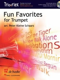 Trio Flex: Fun Favorites For Trumpet: Trumpet Trio