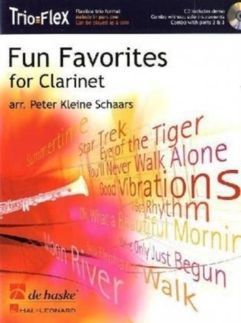 Trio Flex: Fun Favorites For Clarinet: Clarinet Trio