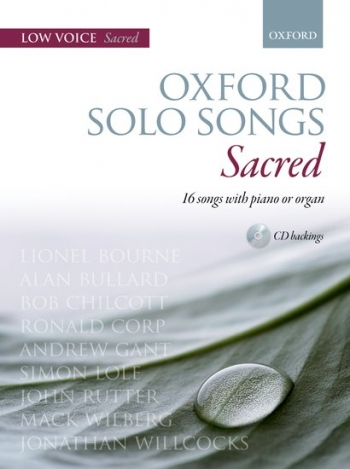 Oxford Solo Songs: Sacred: Low Voice With Piano