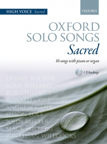 Oxford Solo Songs: Sacred: High Voice With Piano
