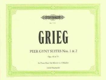 Peer Gynt Suites No 1&2 Op46 &55:  Piano Duet