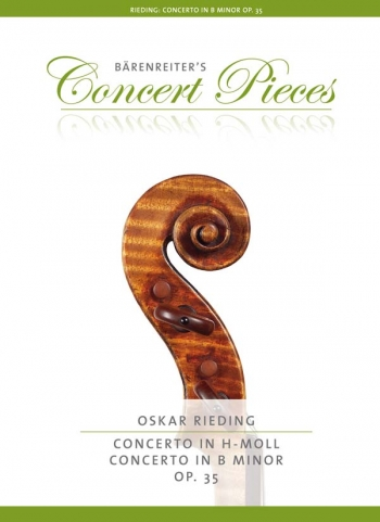 Concerto B Minor Op.35: Violin & Piano (Barenreiter)