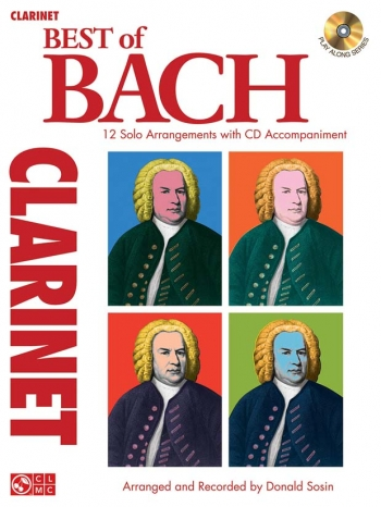Best Of Bach: Clarinet Part & CD