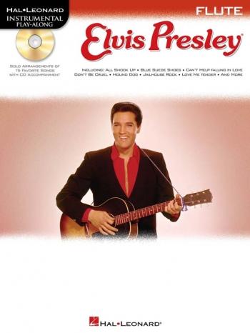 Instrumental Play-along: Elvis Presley: Flute: Book & CD