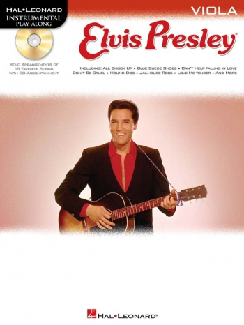 Instrumental Play-along: Elvis Presley: Viola: BK&cd