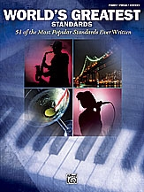 Worlds Greatest Standards: Piano Vocal And Guitar Chords