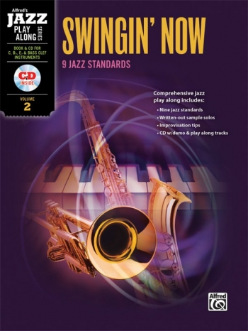 Jazz Play Along: Swinging Now: 9 Jazz Standards: All Instruments: Book & CD