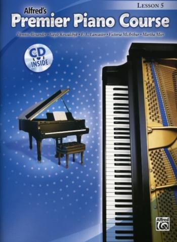 Alfred Premier Piano Course 5: Lesson Book: Book And CD