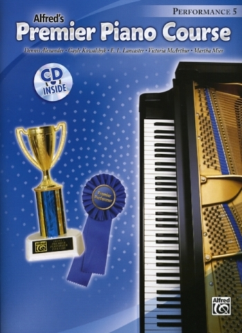 Alfred Premier Piano Course 5: Performance: Book And CD