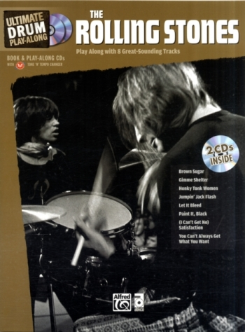 Ultimate Drum Play Along: Rolling Stones: Drum: Book And Cd