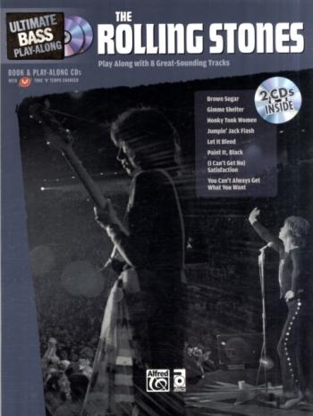 Ultimate Bass Guitar Play Along: Rolling Stones: Bass Guitar: Book & CD