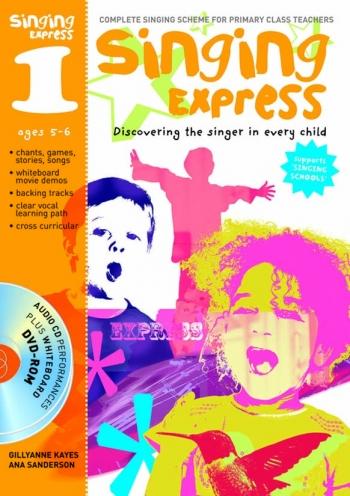 Singing Express 1 Teachers Book: Book And CD/DVD  (A & C Black)