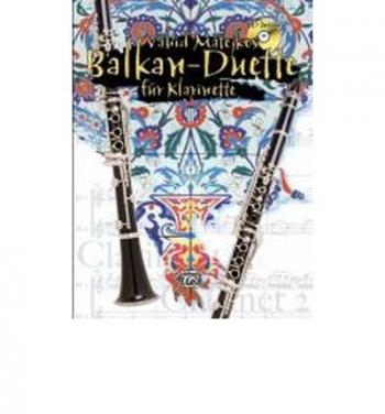 Balkan Duets For Clarinets; Book & Cd (Vahid Matejkos)