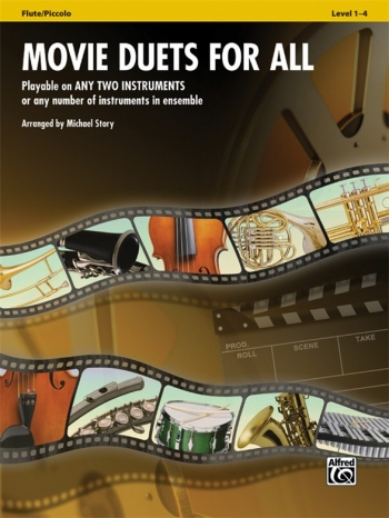 Movie Duets For All: Flute/Piccolo: Level 1-4