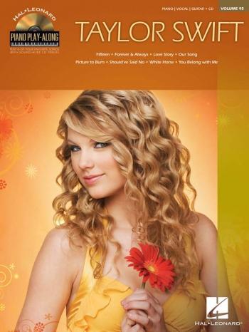 Taylor Swift: Piano Play Along: Vol.95: Book And CD