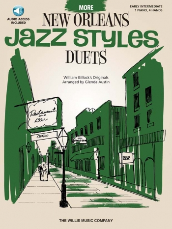 More New Orleans Jazz Styles: Piano Duet: Book And Cd