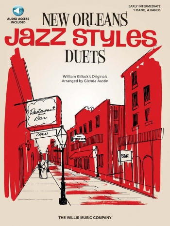 New Orleans Jazz Styles: Piano Duet: Book And Cd