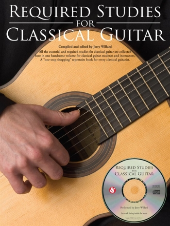 Required Studies For Classical Guitar: Book And Cd
