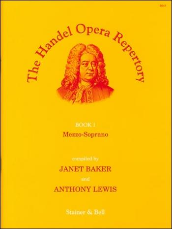Handel Opera Repertory. Book 1. Mezzo-Soprano