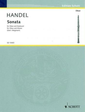 Sonata: Bb Major: Oboe And Piano (Schott)
