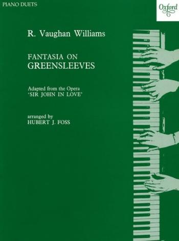 Fantasia On Greensleeves: Piano Duet