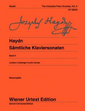 Complete Piano Sonatas Vol.4 (Landon) (Wiener Urtext)