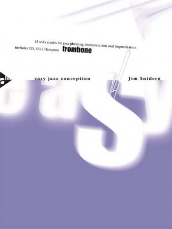 Easy Jazz Conception: Trombone Bass Clef Book & Cd (snidero) (Advance)