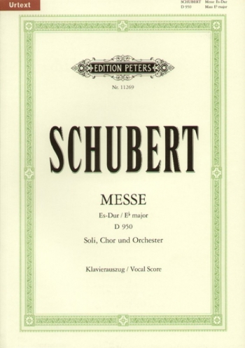 Messe: Eb Major: Vocal Score