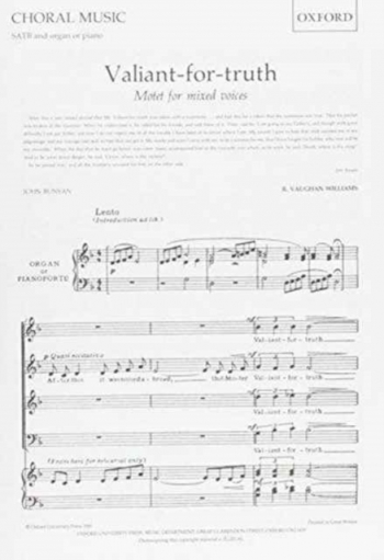 Valiant For Truth: SATB And Piano Introduction: Vocal
