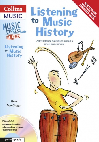 Listening To Muisc History: Music Express Extra Book & cd  (A & C Black)
