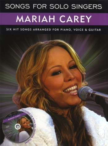 Songs For Solo Singers: Mariah Carey: Piano Vocal Guitar: Book And CD