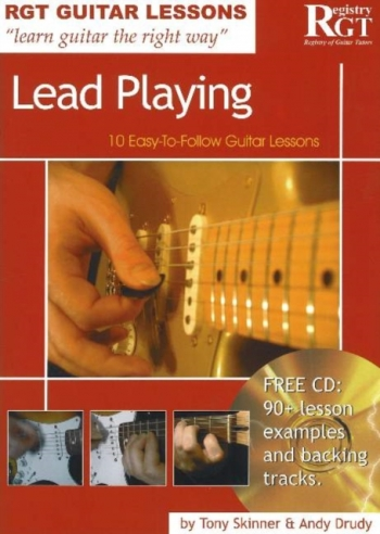 Registry Of Guitar: Guitar Lessons Lead Playing: Book And Cd