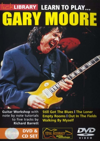 Lick Library: Learn To Play Gary Moore: DVD And Cd Set